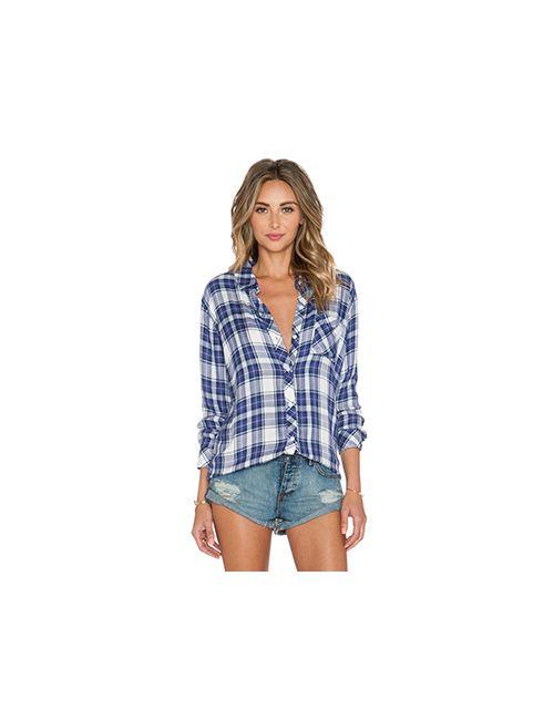 Rails | Женская Синяя Рубашка Hunter