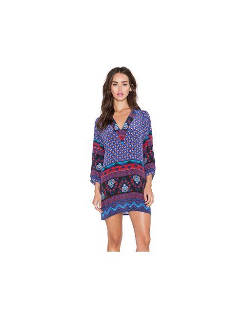Tolani | Женское Синее Платье Nisha