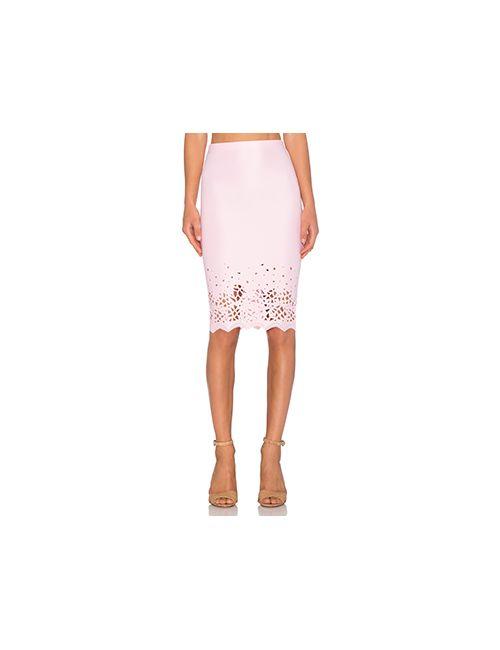 De Lacy | Женская Розовая Юбка Миди Dakota