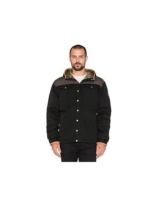 Fjallraven | Мужская Чёрная Куртка Greenland No. 1