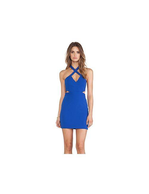 Jay Godfrey | Женское Синее Платье Seegar