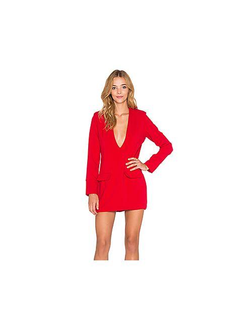 Backstage | Женское Красное Платье Morgan