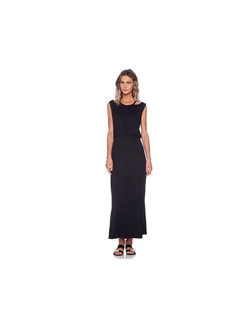 Lna | Женский Чёрный Макси Платье Sierra