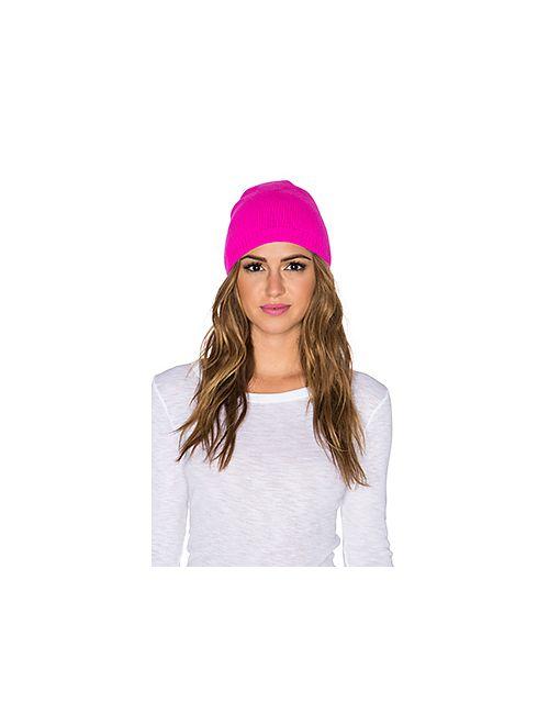 Autumn Cashmere | Женская Розовая Асимметричная Шапка-Сумка