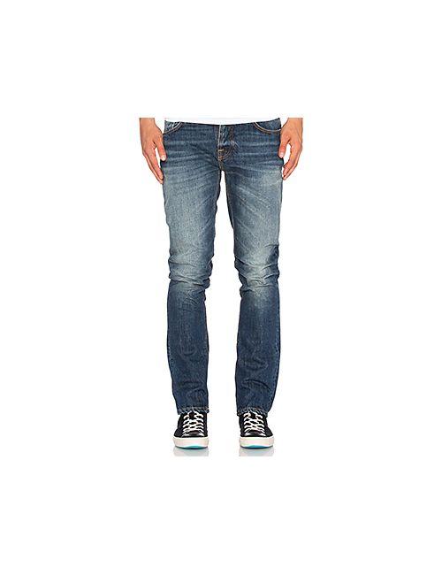 Nudie Jeans Co | Мужские None Узкие Джинсы Grim Tim Nudie Jeans