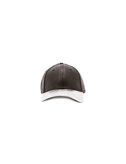 Gents Co. | Мужская Чёрная Шляпа Ryan Leather 2 Tone