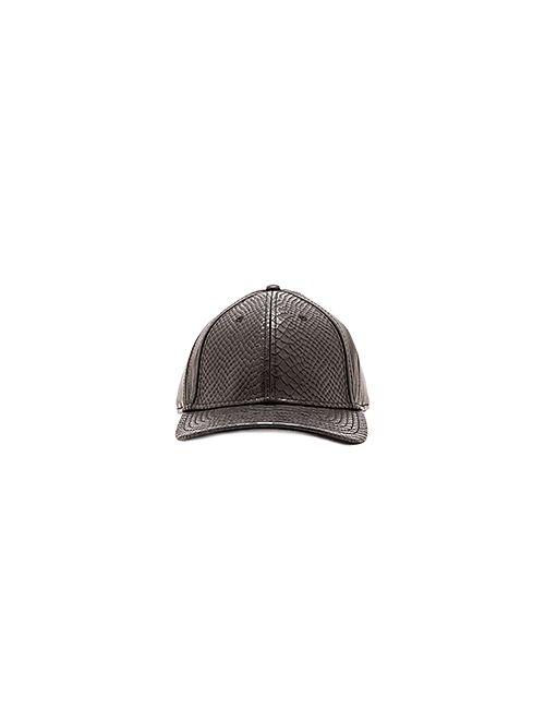 Gents Co. | Мужская Чёрная Шляпа Embossed Viper