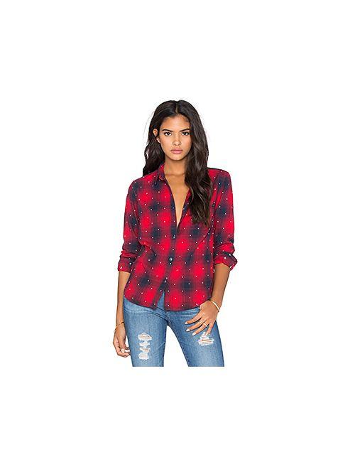 Obey | Женская Красная Рубашка Redwood