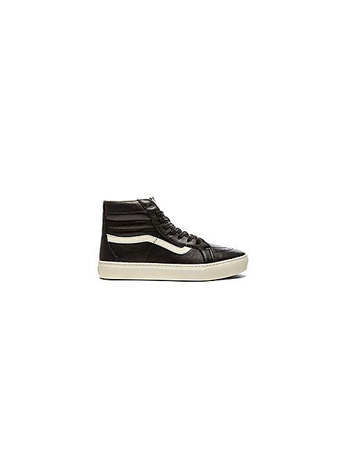 Vans | Мужские Чёрные Кроссовки California Sk8 Hi Cup Leather