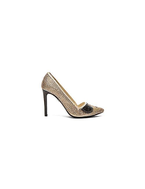 Alice+Olivia | Женские Золотые Туфли На Каблуке Dina Alice Olivia