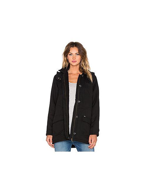Obey | Женская Чёрная Куртка Fairfield