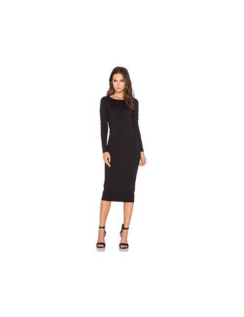 Charli | Женское Чёрное Платье Audrey