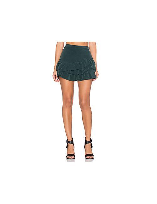 IKKS Paris | Женская Зелёная Юбка Мини Volants Skirt