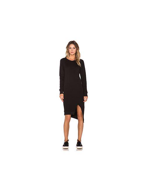 Oak   Женское Чёрное Платье Pullover