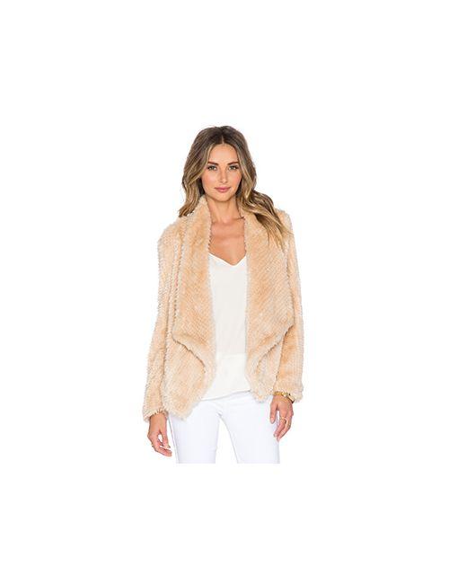 BARDOT | Женская Беж Куртка Из Искусственного Меха