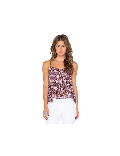 T-Bags LosAngeles | Женская Розовая Майка-Безрукавка