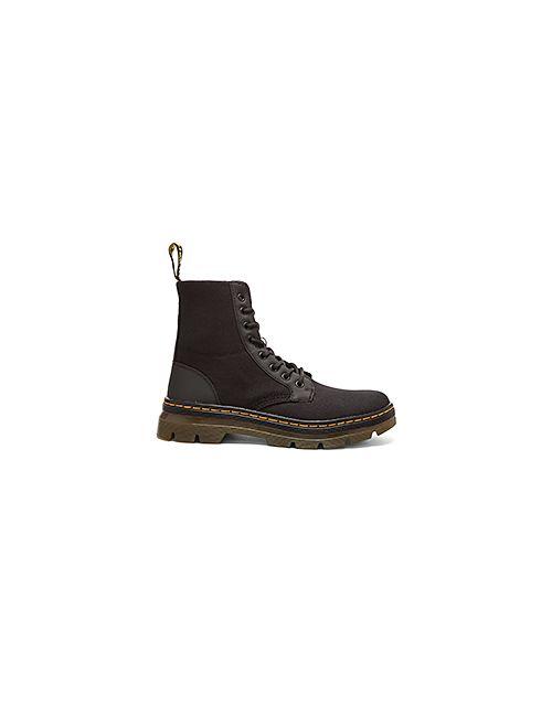 Dr. Martens | Мужские Чёрные Сапоги Combs Fold Down Boot