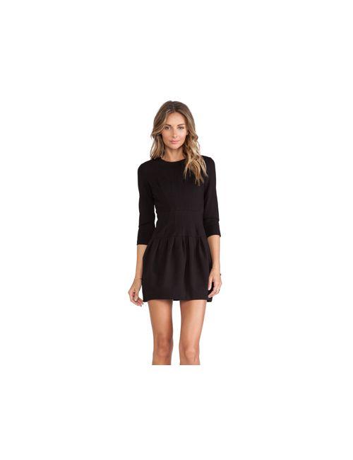 d.Ra | Женское Чёрное Платье Sharm