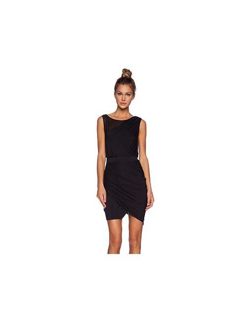 ADDISON | Женское Чёрное Платье Waverly