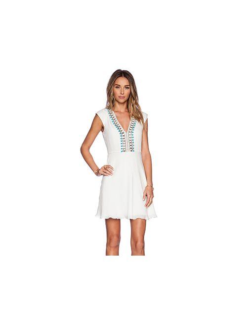 Haute Hippie | Женское Белое Платье