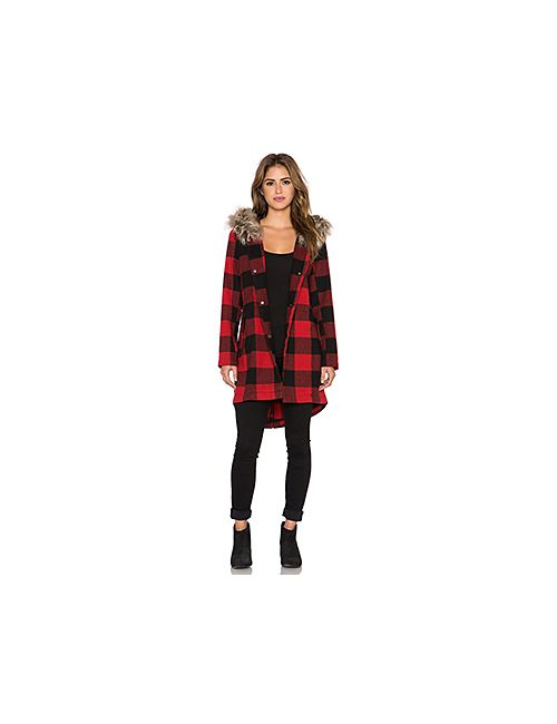 Bb Dakota | Женское Красное Пальто Jaslene
