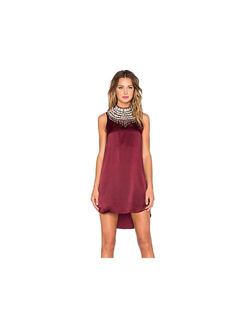 Haute Hippie   Женское Вишня Платье