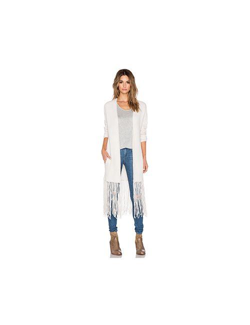 360 Sweater   Женский Кремовый Кардиган Quincy