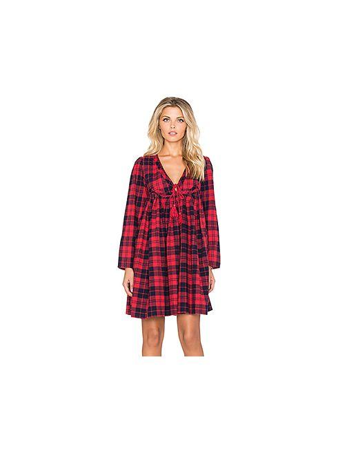 d.Ra | Женское Красное Платье Hawke