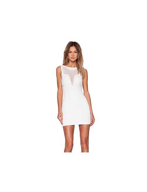 NBD   Женское Белое Платье Do You Realize
