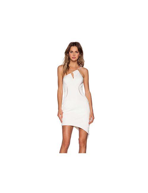 THREE FLOOR | Женские Белые Мини Платье Whitewash
