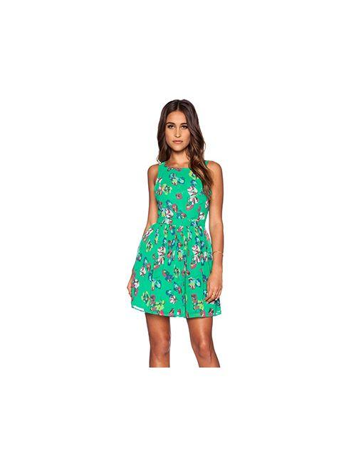 Bb Dakota | Женское Зелёное Платье Kismet