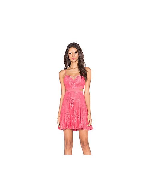Style Stalker   Женское Розовое Платье Katara