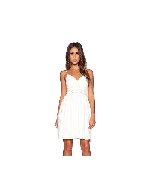 Bailey 44 | Женское Белое Платье Carousel