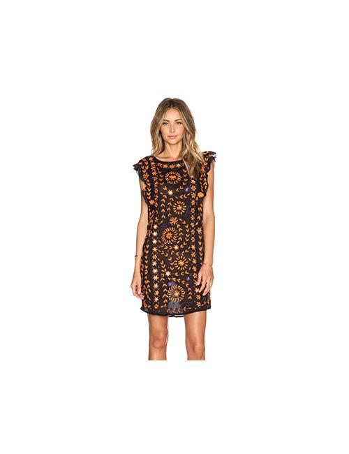 Antik Batik | Женское Черный Украшенное Платье Barbade