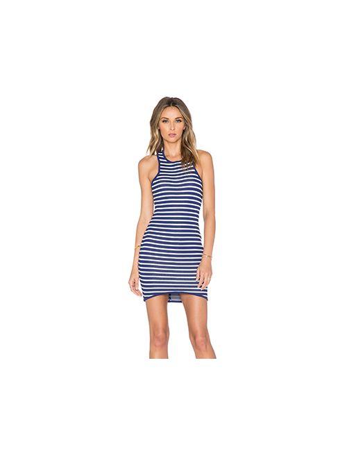 J.O.A. | Женское Синее Платье