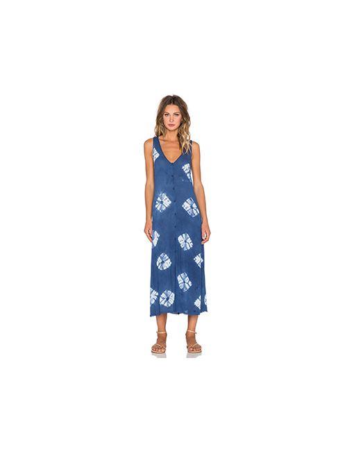 LACAUSA | Женское Синее Платье Rey