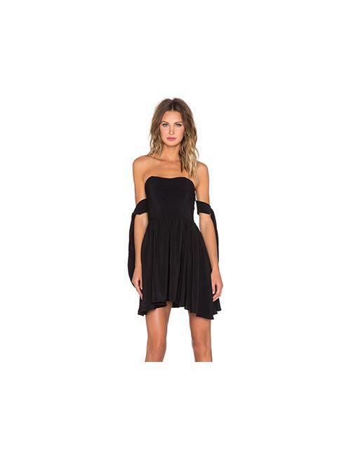 Lucy Paris | Женское Черный Платье Deetz Tie