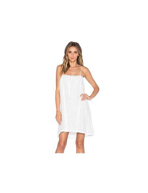 Amour Vert | Женское Белое Платье Carlyle