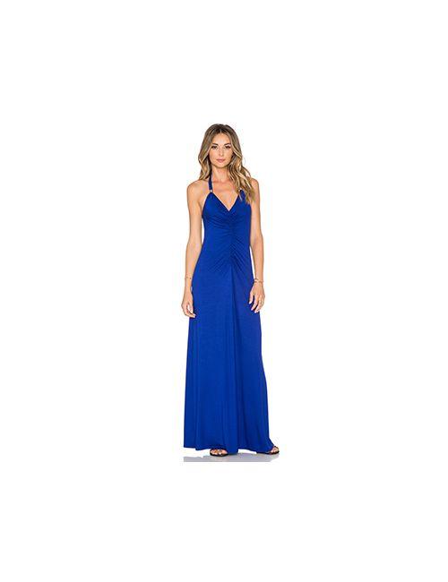 Trina Turk   Женское Синее Платье Dianni