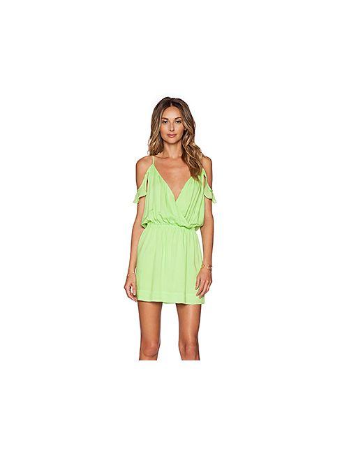 Vix Swimwear | Женские Зелёные Мини Платье Candice