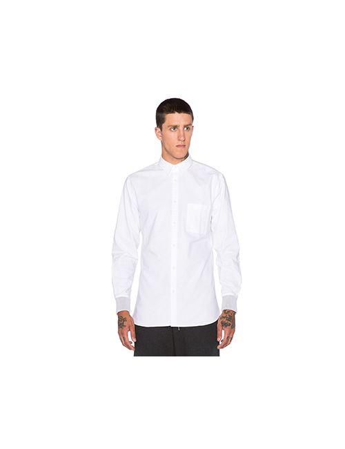 ZANEROBE | Мужская Белая Рубашка Seven Foot Rib Cuff