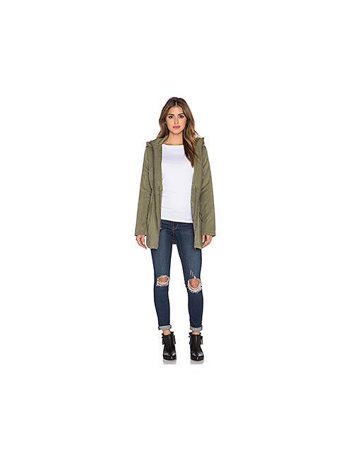 Bb Dakota | Женское Зелёное Пальто Ashland