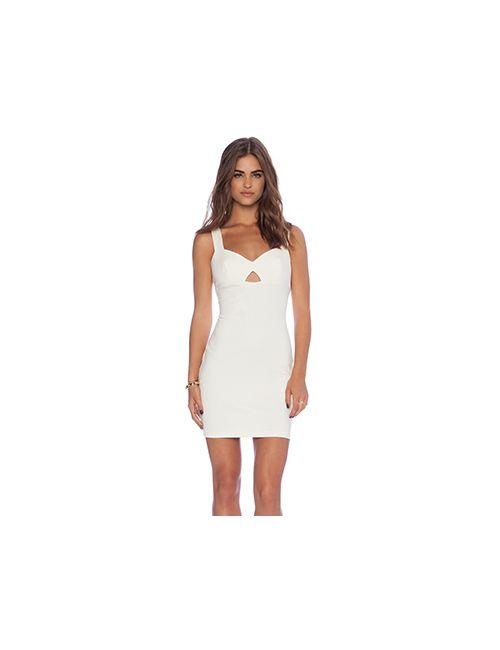 Amanda Uprichard | Женское Кремовое Платье Royce