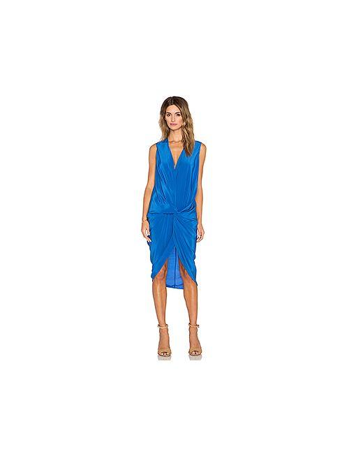 One Fell Swoop | Женское Синее Платье Elana
