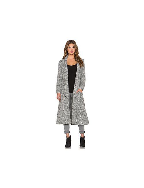 Somedays Lovin | Женское Серое Шерстяное Пальто Дастер Shrubs