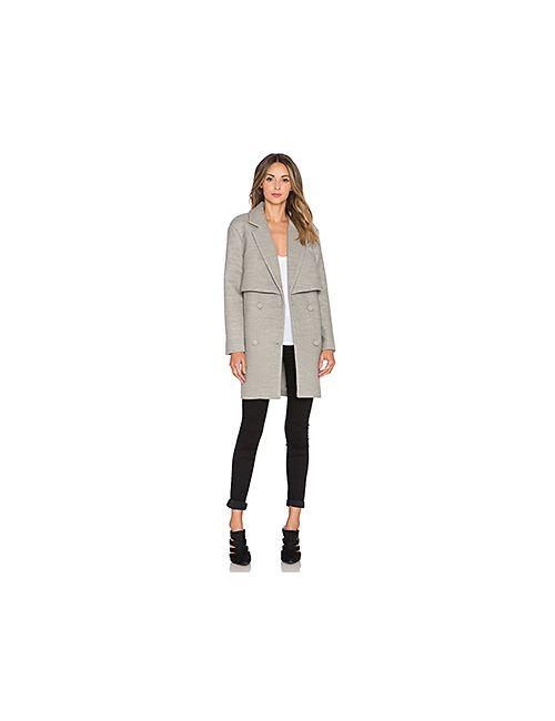 C/MEO | Женское Серое Пальто Straight Talker