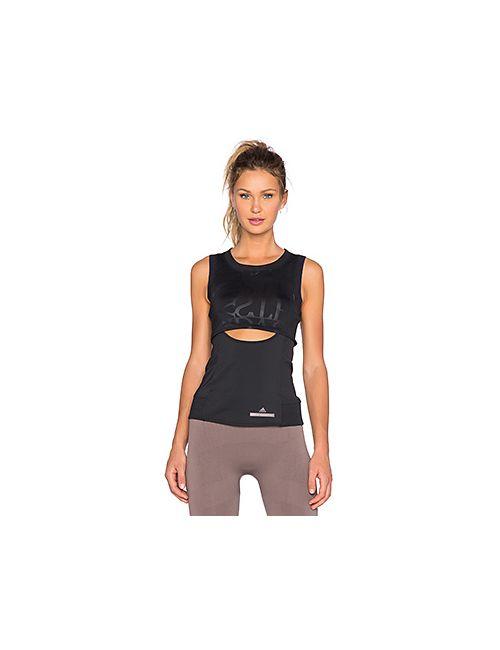 Adidas By Stella  Mccartney | Женский Чёрный Топ Climacool Run Perf Adidas By Stella