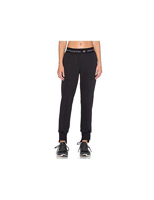 Adidas By Stella  Mccartney   Женские Чёрные Свободные Брюки Adidas By Stella Mccartney