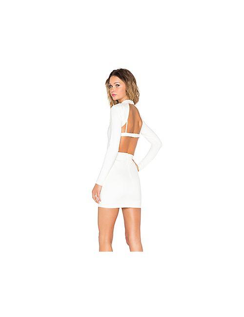 NBD | Женское Белое Платье Hold It