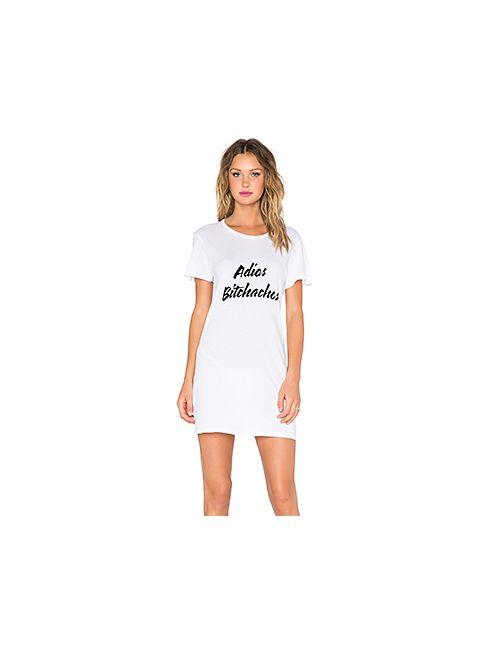 Beach Riot | Женское Белое Платье-Майка Adios